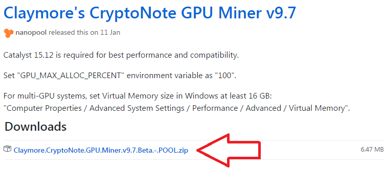 Claymore's CryptoNote GPU