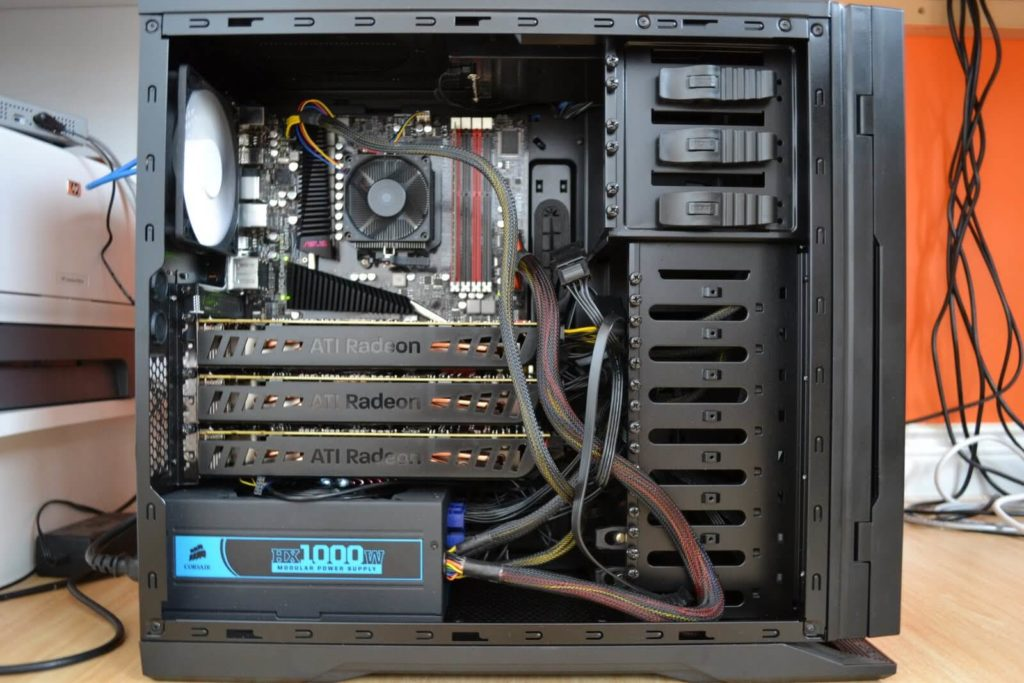 Технические требования к компьютеру для майнинга