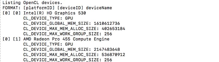Команды OpenCL нужно поместить в новый bat-файл
