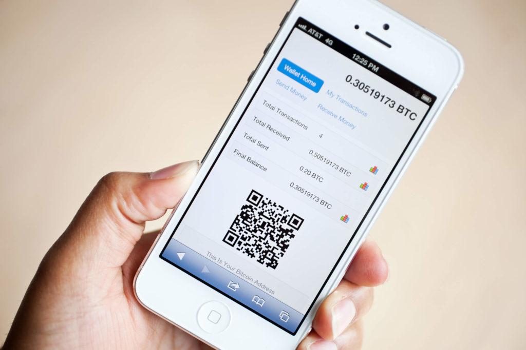Биткоин-кошелек для смартфона