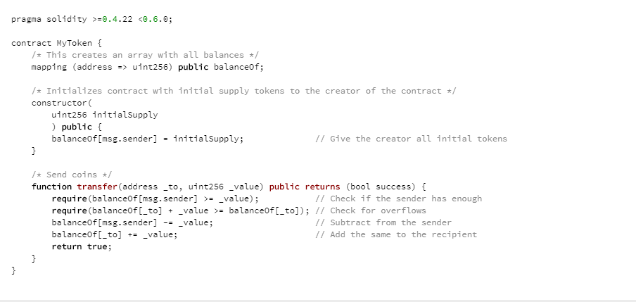 Создание исходного кода