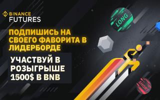 Уникальный турнир для участников системы Бинанс