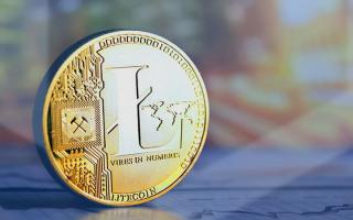 Криптовалюта Litecoin — график изменения цены к рублю и доллару