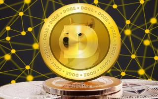 Криптовалюта Dogecoin (DOGE) — график изменения курса к рублю и доллару
